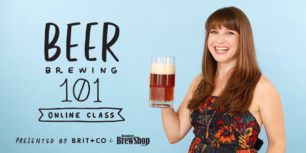 Beer Brewing 101 by Brooklyn Brew Shop in collaboration with Brit + Co.