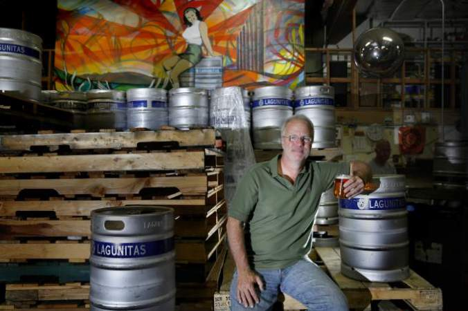 Tony Magee, founder of Lagunitas Brewing Co. Photo via the Press Democrat.