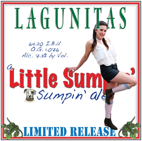 Lagunitas a Little Sumpin' Sumpin' ale LIMITED RELEASE Halloween 2015