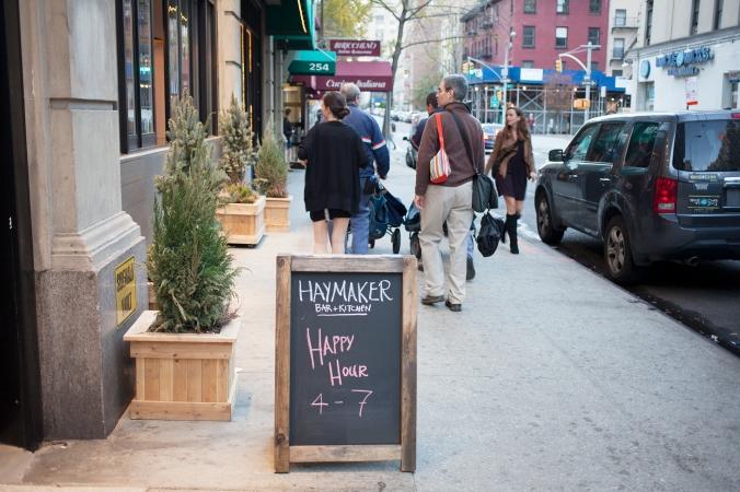 Haymaker NYC - chalkboard