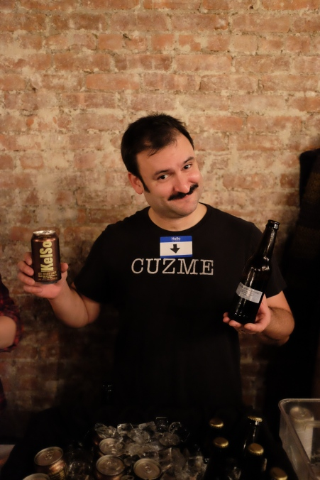 You'll likely see Chris Cuzme of KelSo and Cuzett pouring for KelSo during NYC Beer Week.