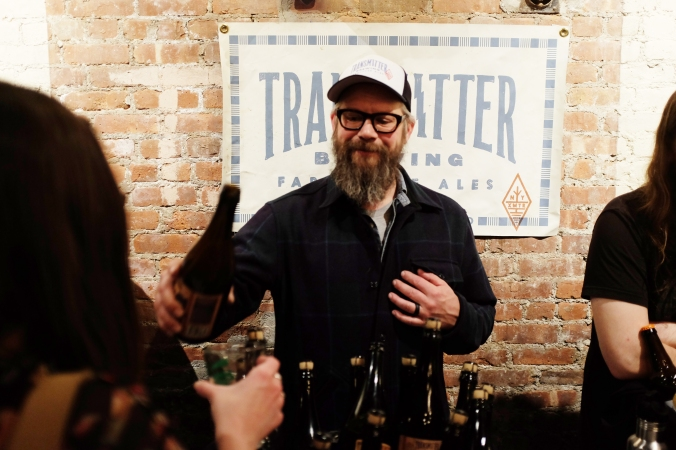 Rob from Transmitter. What to look for: the BdG Buckwheat Bier de Garde