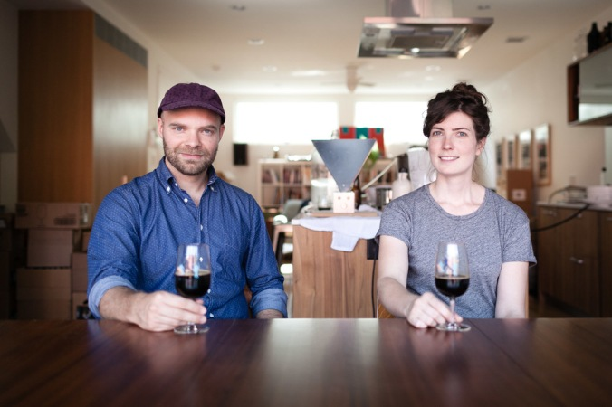 Joe and Lauren Grimm. via Good Beer Hunting