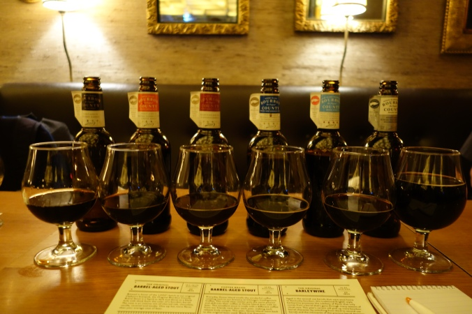 Goose Island Bourbon County Stout 2017 Lineup